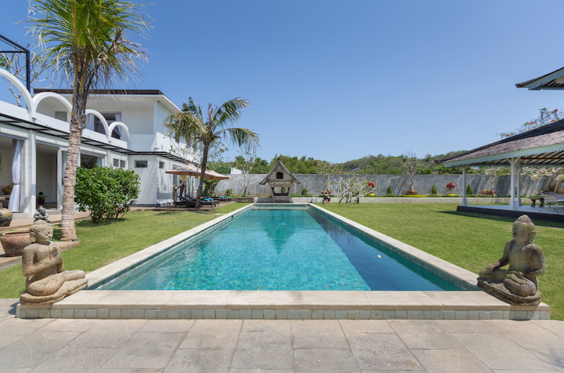 Pool Side - Villa Hasian - Jimbaran, Bali