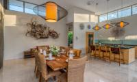 Dining Area - Villa Indah Aramanis - Seminyak, Bali
