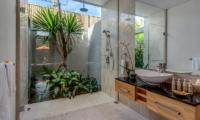 Bathroom with Shower - Villa Indah Aramanis - Seminyak, Bali