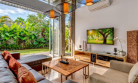 Lounge Area with TV - Villa Indah Aramanis - Seminyak, Bali