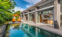 Pool Side - Villa Indah Aramanis - Seminyak, Bali