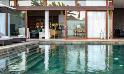 Pool Side - Villa Indrani - Canggu, Bali