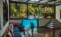 Living Area with Pool View - Villa Istimewa - Seminyak, Bali