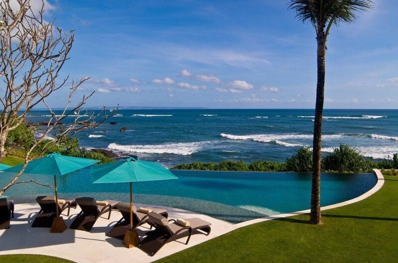 Pool with Sea View - Villa Jagaditha - Seseh, Bali
