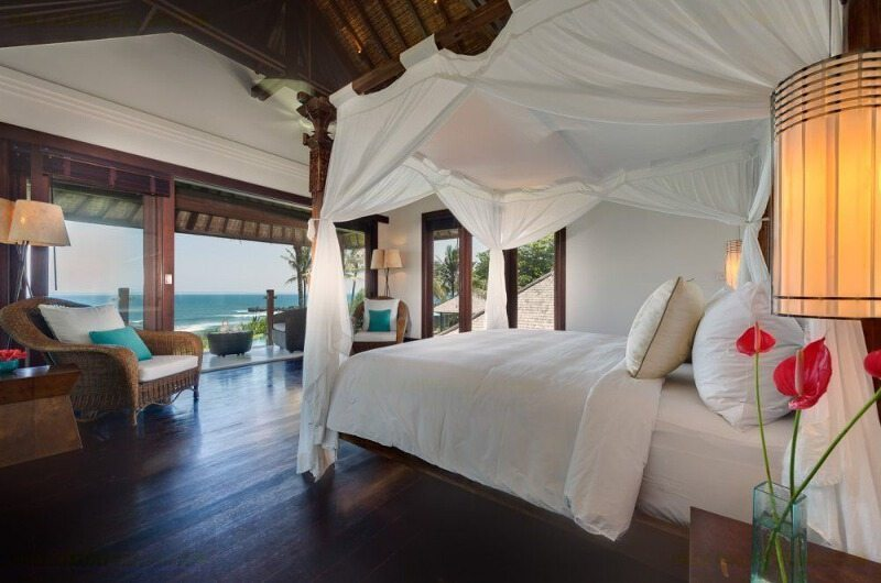 Bedroom with Sea View - Villa Jagaditha - Seseh, Bali