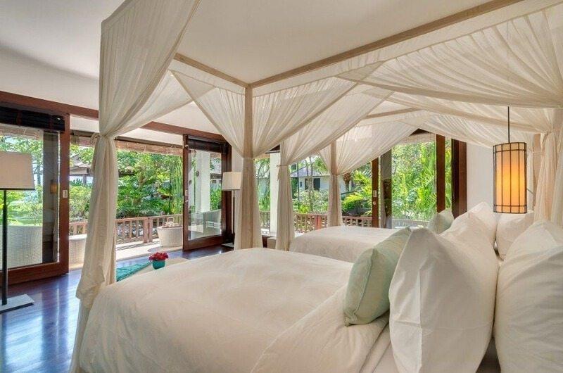 Twin Bedroom and Balcony - Villa Jagaditha - Seseh, Bali