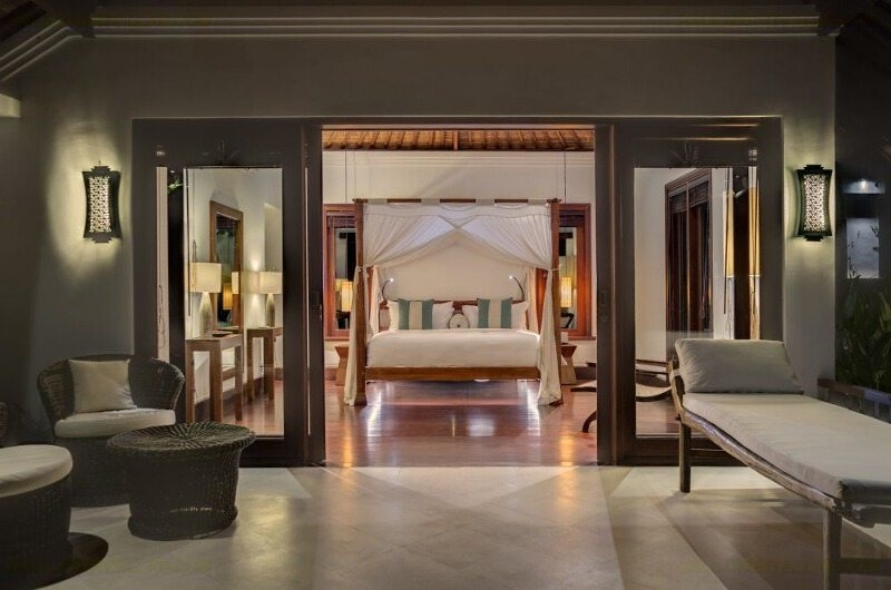 Bedroom and Balcony - Villa Jagaditha - Seseh, Bali