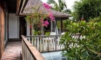 Balcony View - Villa Jempiring - Seminyak, Bali