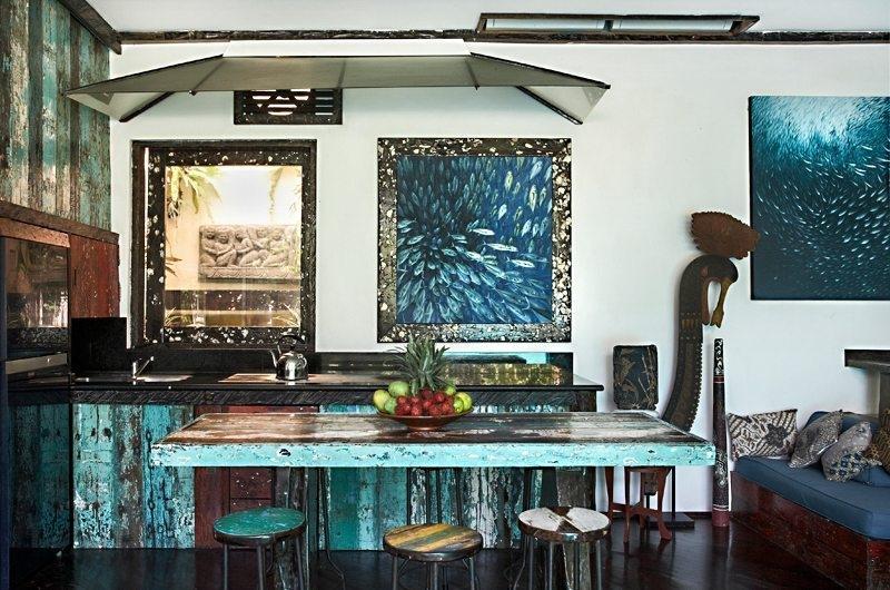 Kitchen and Dining Area - Villa Jempiring - Seminyak, Bali