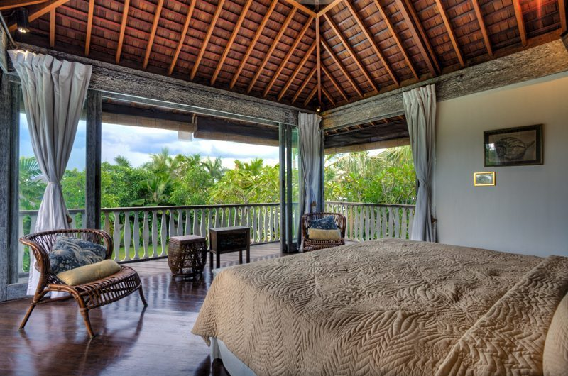 Bedroom with View - Villa Jempiring - Seminyak, Bali