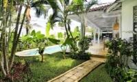 Gardens and Pool - Villa Jolanda - Seminyak, Bali