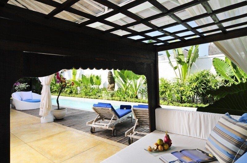 Pool Side Seating Area - Villa Jolanda - Seminyak, Bali