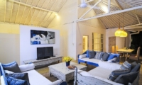 Living Area with TV - Villa Jolanda - Seminyak, Bali