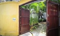 Entrance - Villa Jolanda - Seminyak, Bali