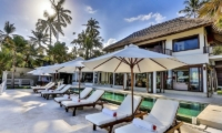 Sun Beds - Villa jukung - Candidasa, Bali