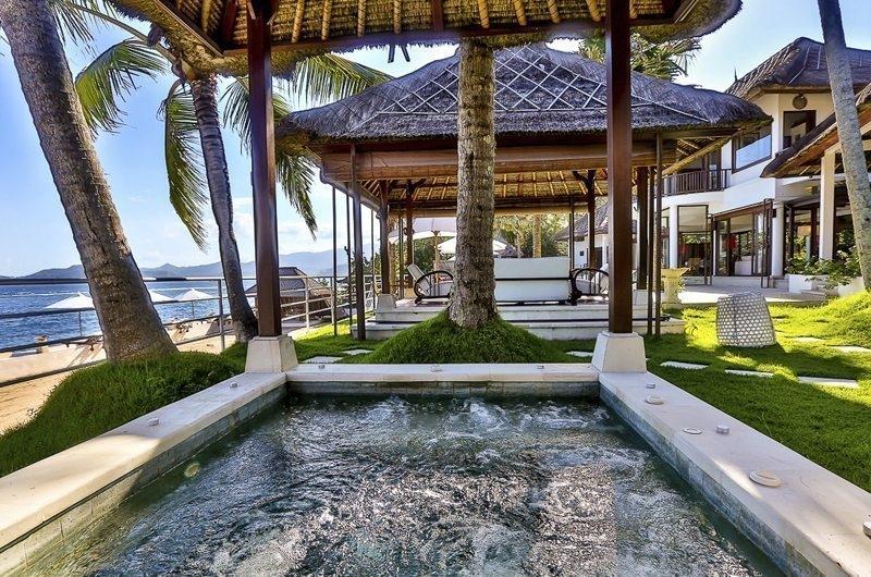 Jacuzzi - Villa jukung - Candidasa, Bali