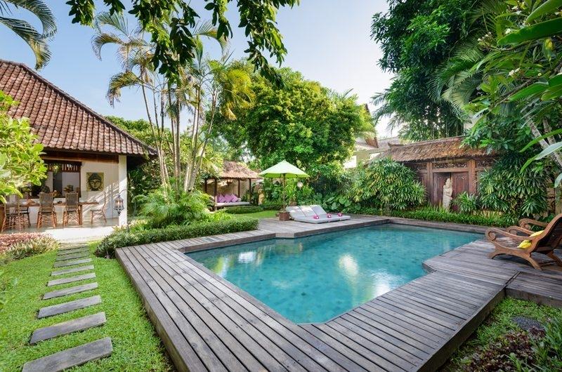 Gardens and Pool - Villa Jumah - Seminyak, Bali
