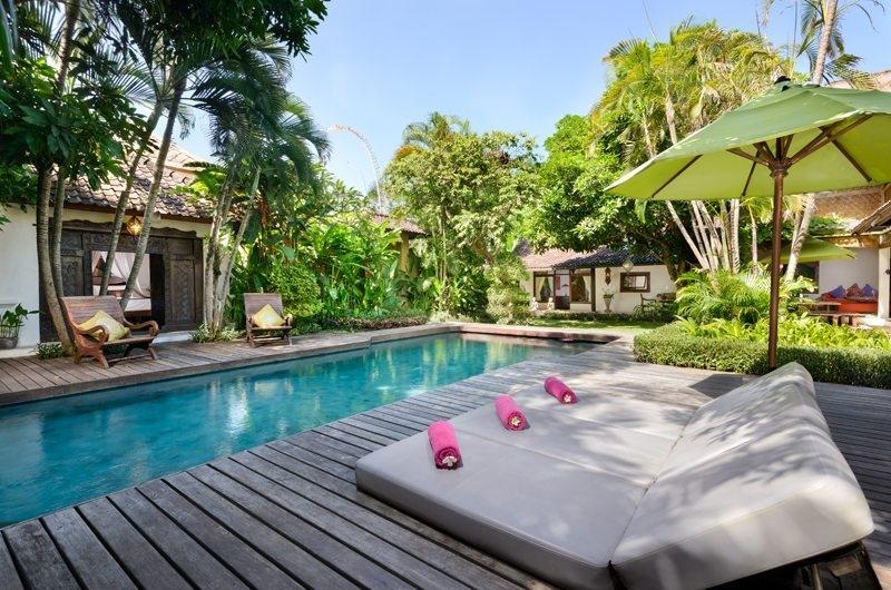 Pool Side Loungers - Villa Jumah - Seminyak, Bali