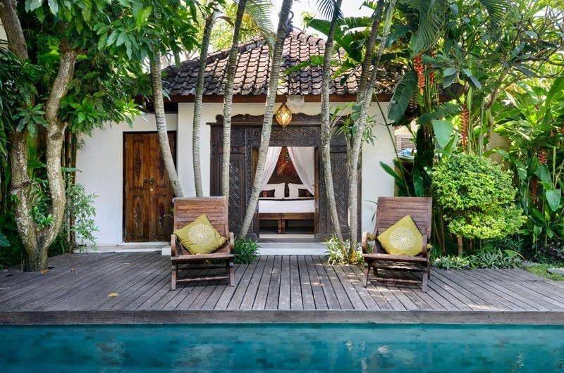 Bedroom View - Villa Jumah - Seminyak, Bali