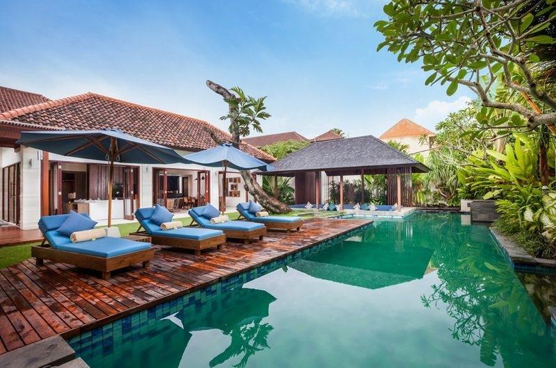 Pool Side - Villa Kajou - Seminyak, Bali