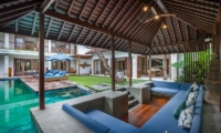 Pool Side Seating Area - Villa Kajou - Seminyak, Bali