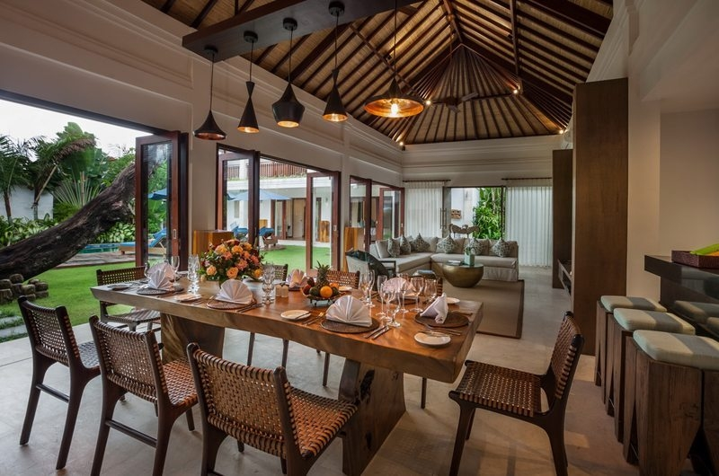 Living and Dining Area - Villa Kajou - Seminyak, Bali