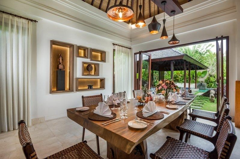 Dining Area - Villa Kajou - Seminyak, Bali