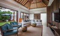 Living Area with TV - Villa Kajou - Seminyak, Bali