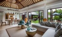 Indoor Living and Dining Area - Villa Kajou - Seminyak, Bali
