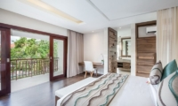 Bedroom and Balcony - Villa Kajou - Seminyak, Bali