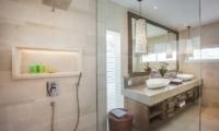 His and Hers Bathroom - Villa Kajou - Seminyak, Bali