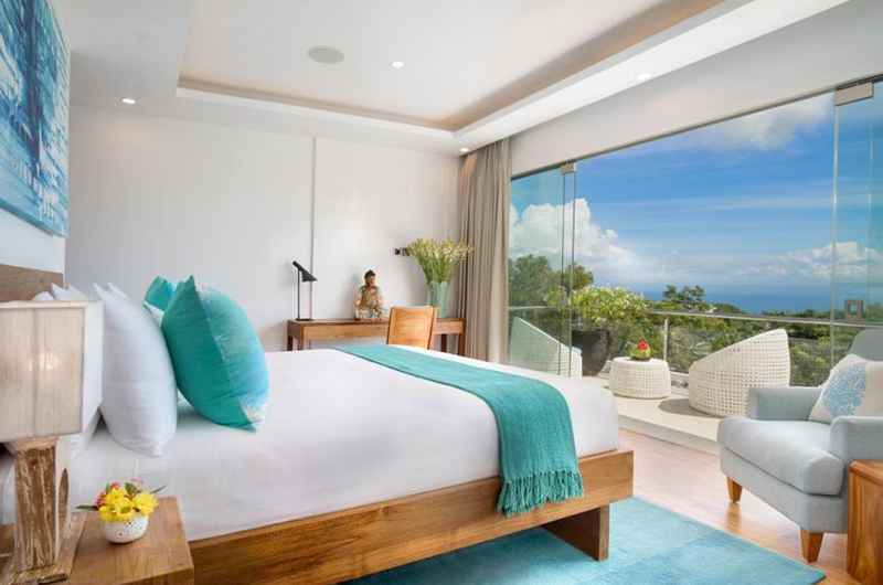 Bedroom and Balcony - Villa Kalibali - Uluwatu, Bali