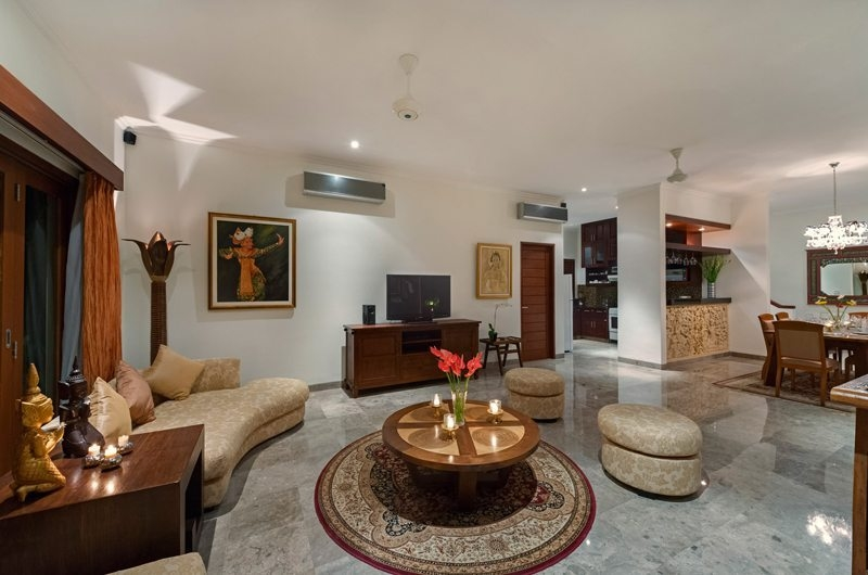 Living Area - Villa Kalimaya - Seminyak, Bali