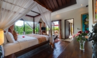 Spacious Bedroom with Wooden Floor - Villa Kalimaya - Seminyak, Bali