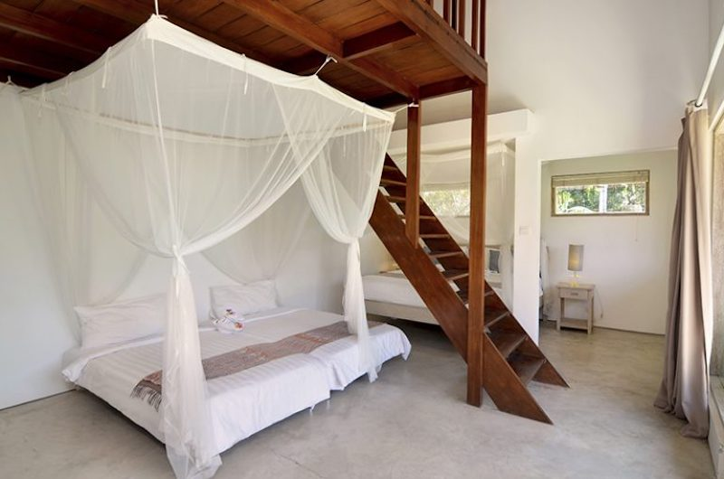 Bedroom with Up Stairs - Villa Kami - Canggu, Bali