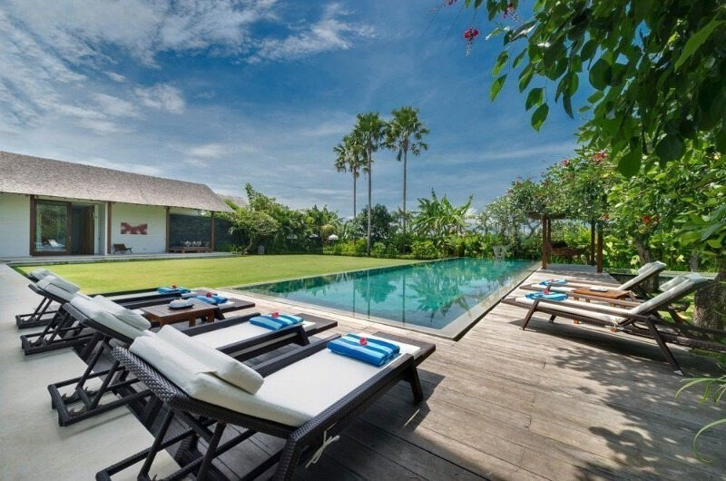 Pool Side Loungers - Villa Kavya - Canggu, Bali