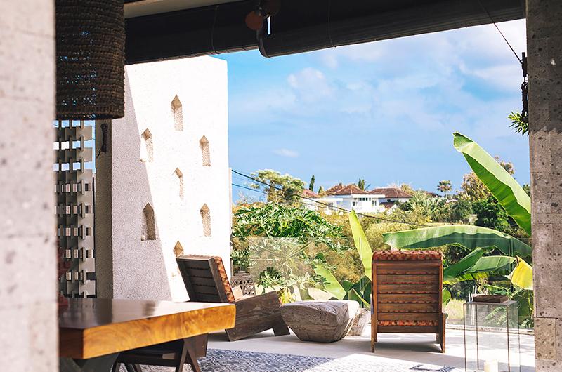 Outdoor Seating Area - Villa Kayajiwa - Canggu, Bali