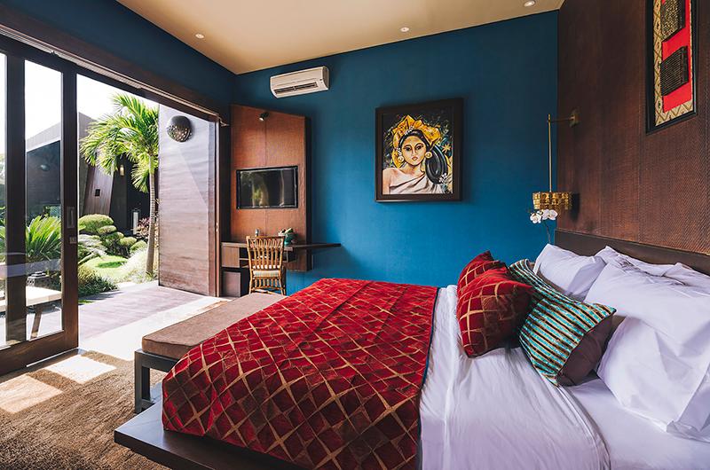 Bedroom with Garden View - Villa Kayajiwa - Canggu, Bali