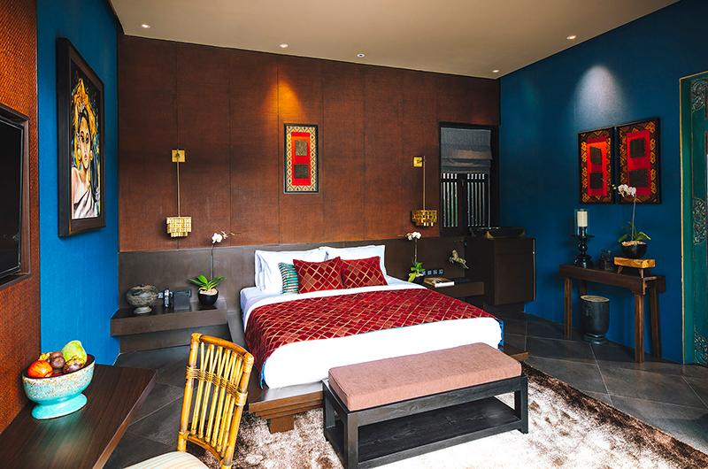 Bedroom with Lamps - Villa Kayajiwa - Canggu, Bali