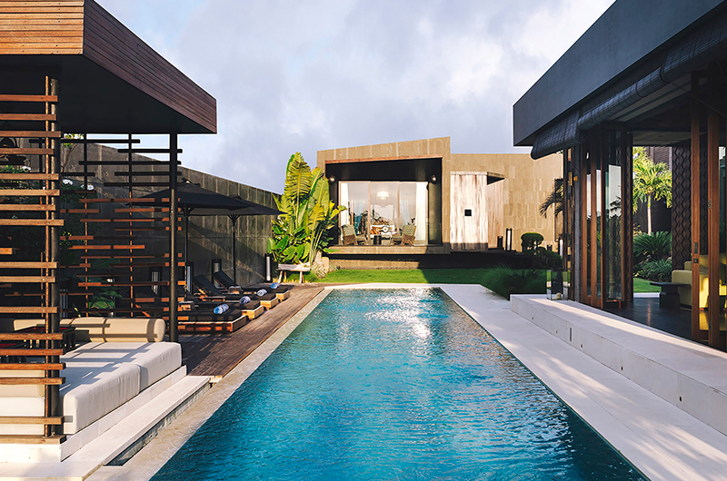 Swimming Pool - Villa Kayajiwa - Canggu, Bali