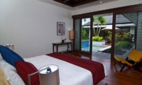 Bedroom with Pool View - Villa Kejora 10 - Sanur, Bali