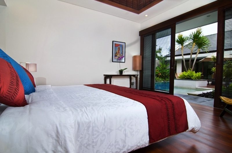 Bedroom with Garden View - Villa Kejora 10 - Sanur, Bali