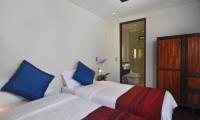 Twin Bedroom and Bathroom - Villa Kejora 10 - Sanur, Bali