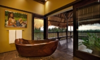 Bathtub with View - Villa Kelusa - Ubud, Bali
