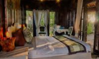 Bedroom with Garden View - Villa Keong - Tabanan, Bali
