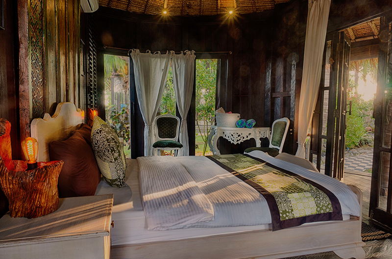 Bedroom with Garden View - Villa Keong - Tabanan, Bali