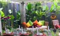 Open Plan Dining Area - Villa Khaleesi - Seminyak, Bali