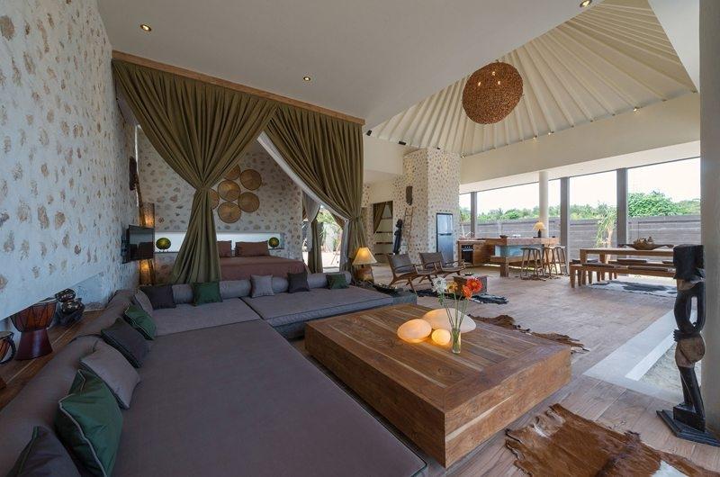 Living Area - Villa Kingfisher - Nusa Lembongan, Bali