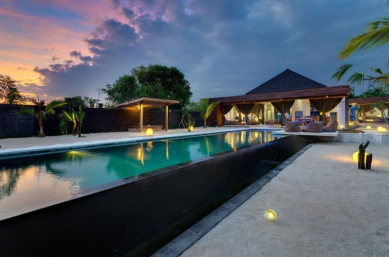Swimming Pool - Villa Kingfisher - Nusa Lembongan, Bali