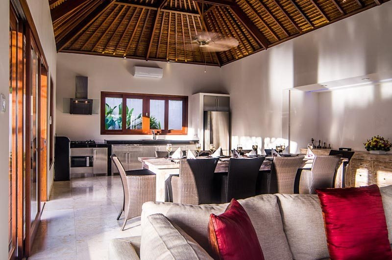 Kitchen and Dining Area - Villa Kirgeo - Canggu, Bali